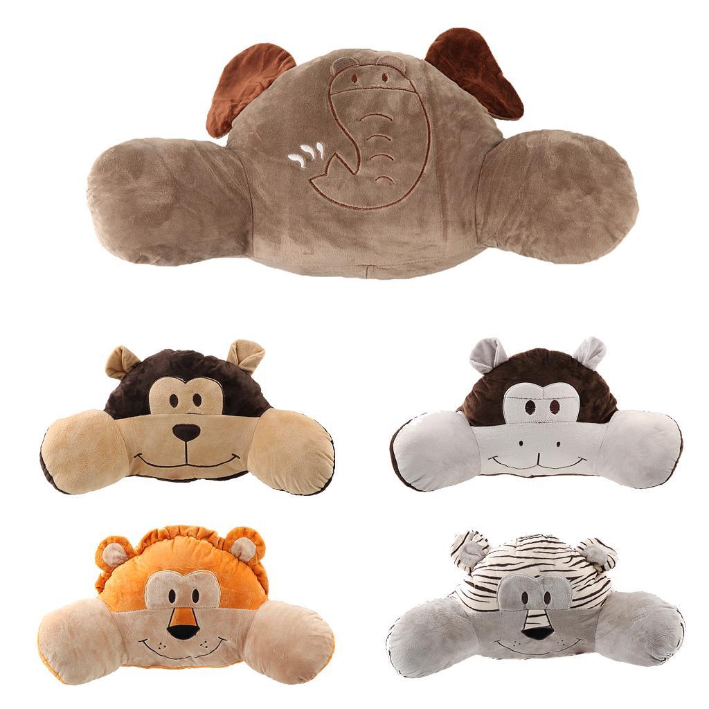 Cute Animals Stuffed Plush Soft Reading Pillow Home Decor Monkey - Free Shipping