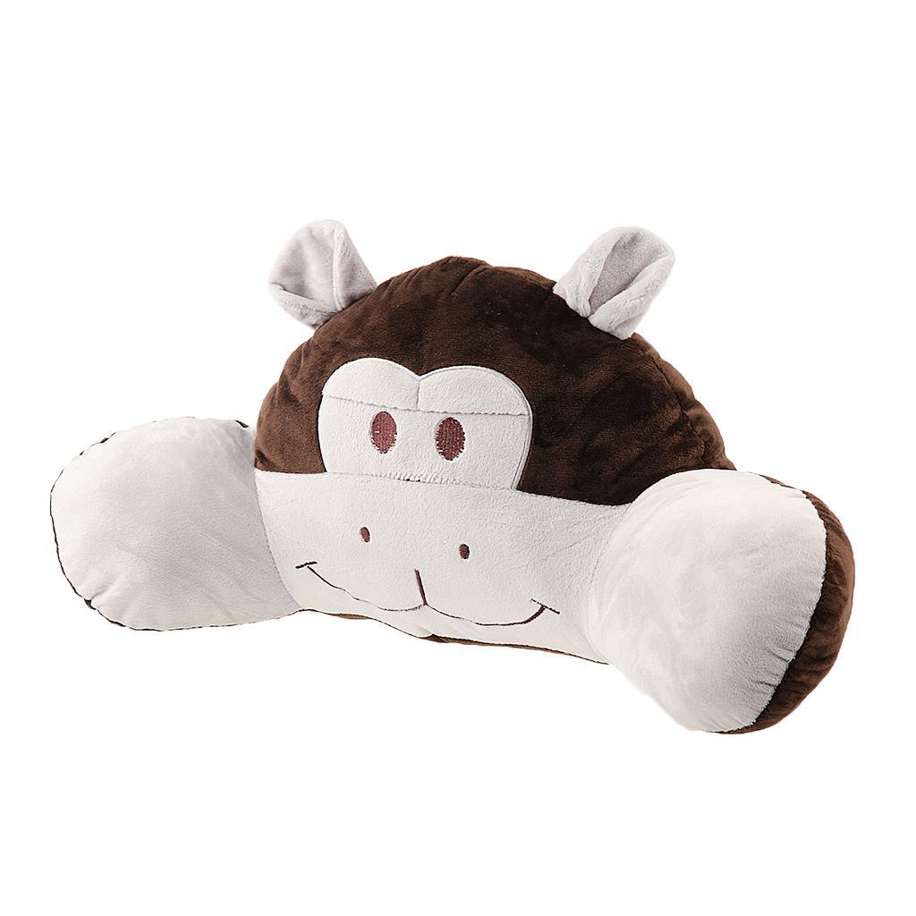 Animal Reading Pillows : Cute Animals Stuffed Plush Soft Reading Pillow Home Decor Orangutan - Free Shipping