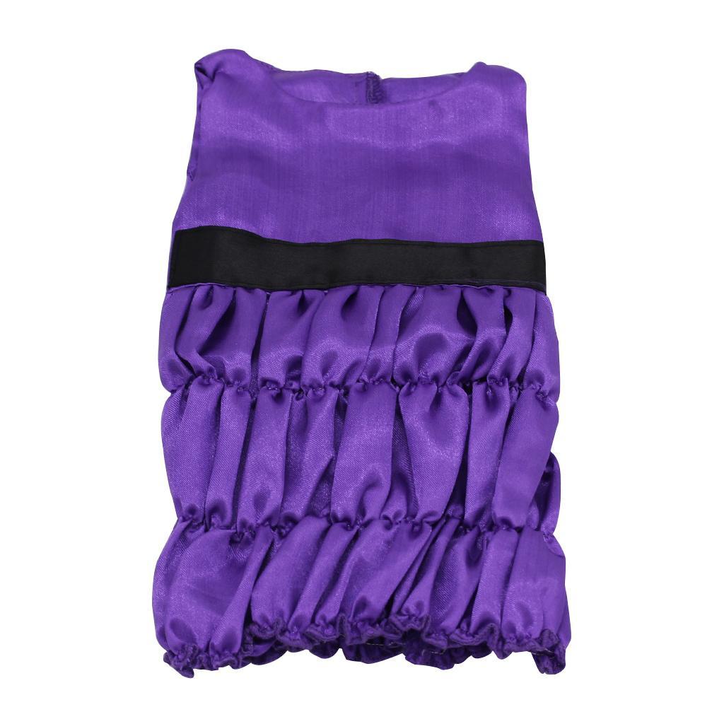Purple Sleeveless Dress For 18'' American Girl Dolls