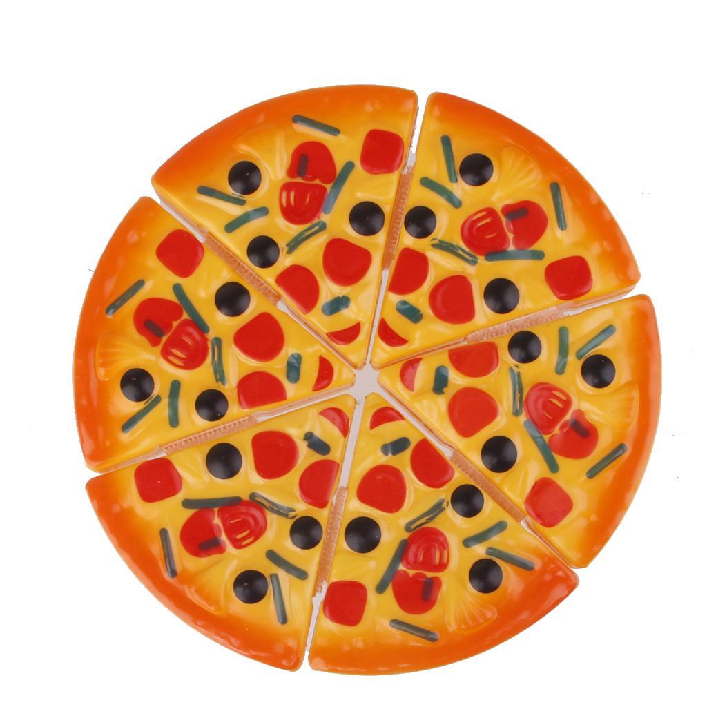 6pcs Kids Pizza Slices Food Toys