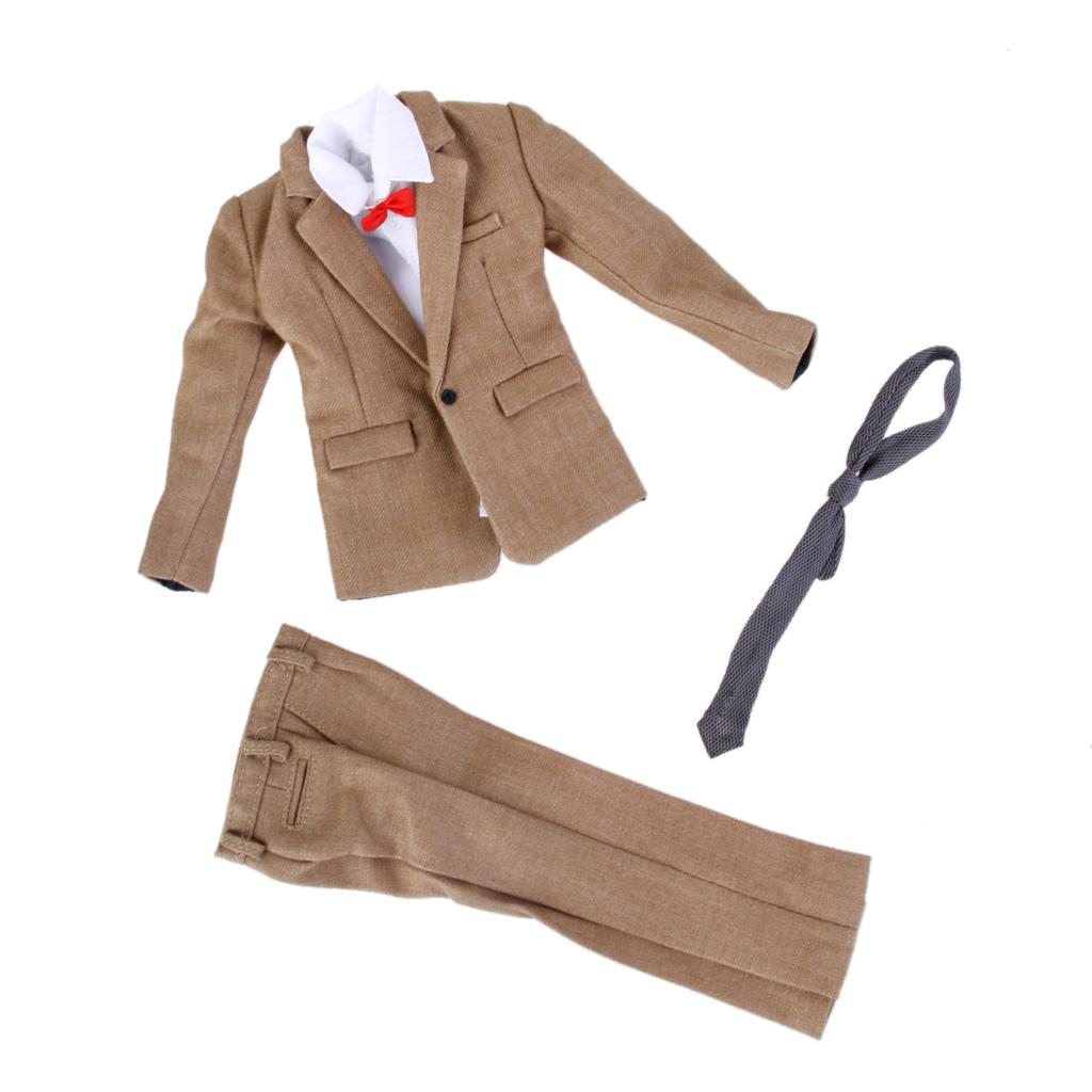 1/6 Scale Khaki Suit for 12 Inch Action Figure