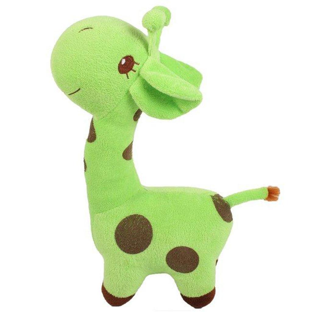 Cute Giraffe Soft Plush Toy Kids Stuffed Animal Gift - Green