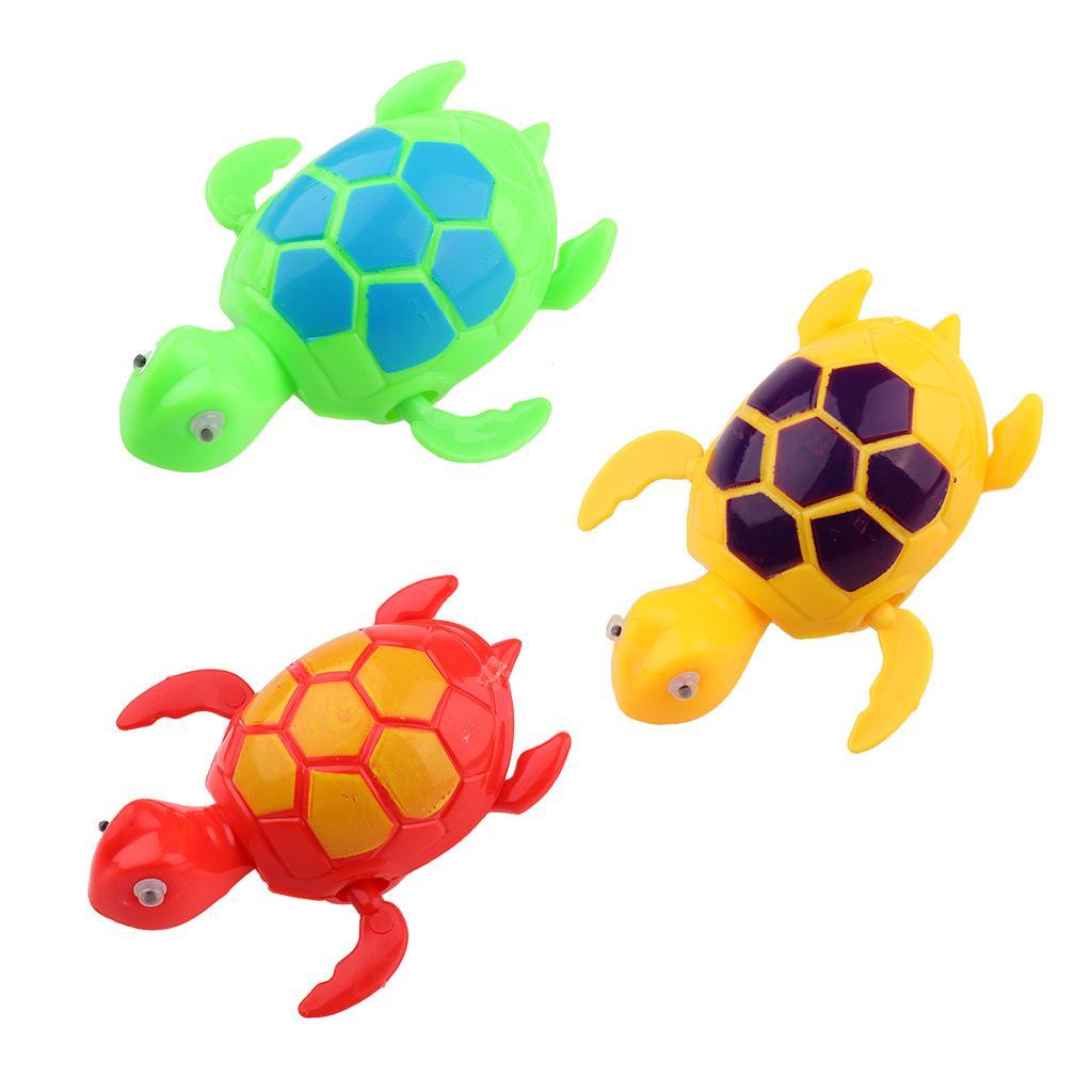 Wind Up Clockwork Turtle Tortoise Kids Bathtime Toy Collectibles