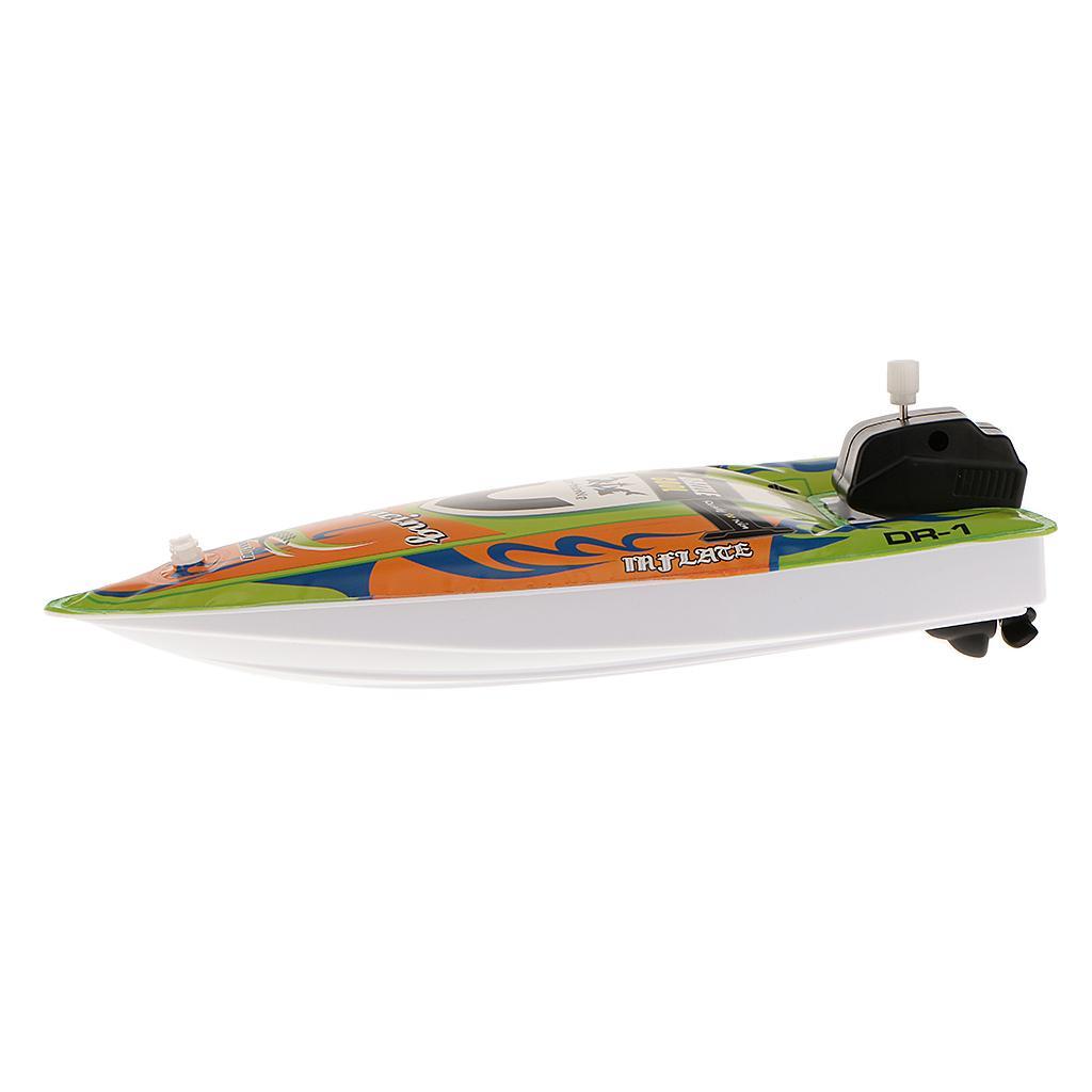Kids Children Inflatable Wind Up Speedboat Boat Pool Bath Toy Green #6