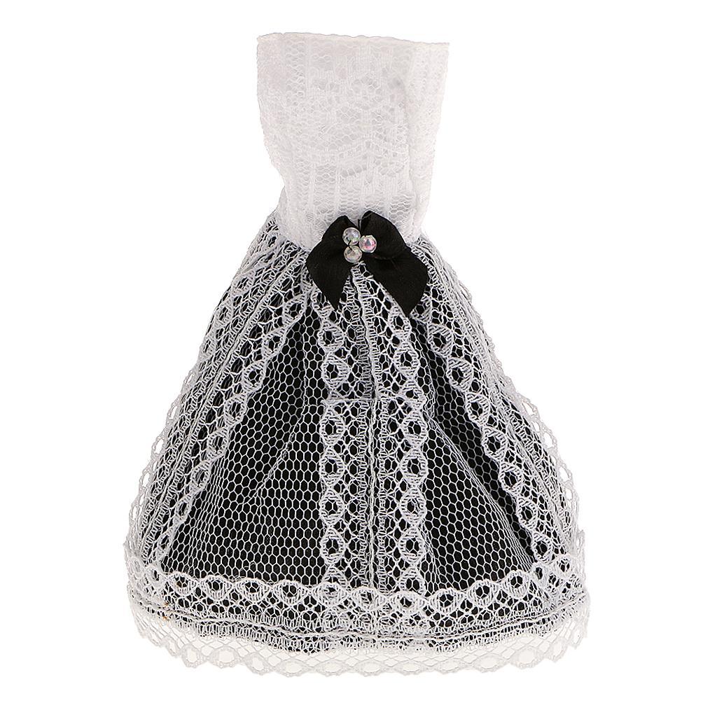 Stunning Handmade Black and White Skirts for Barbie Jenny Doll