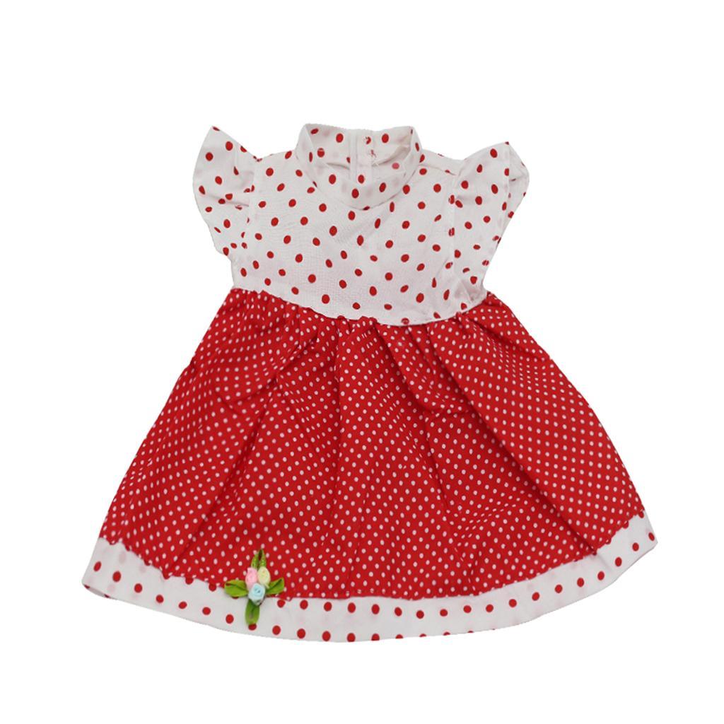 Polka Dot Dress For 18 Inch American Girl Dolls