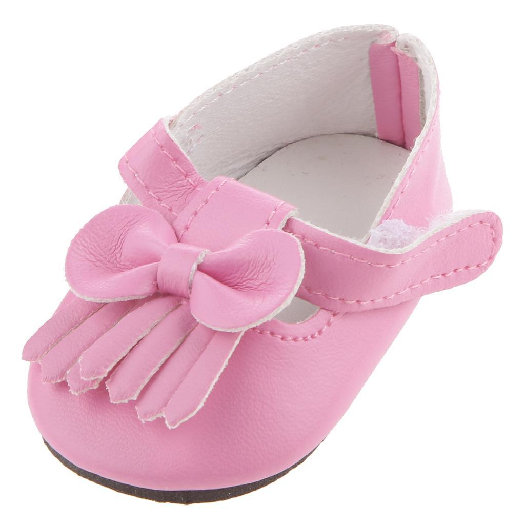 Fashion Fuchsia Shoes Accessory for 18 inch American Girl Doll