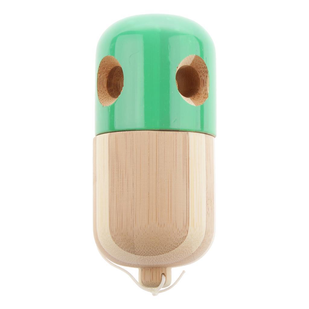 Japanese Capsule Toys : Japanese traditional hole bamboo capsule pill kendama