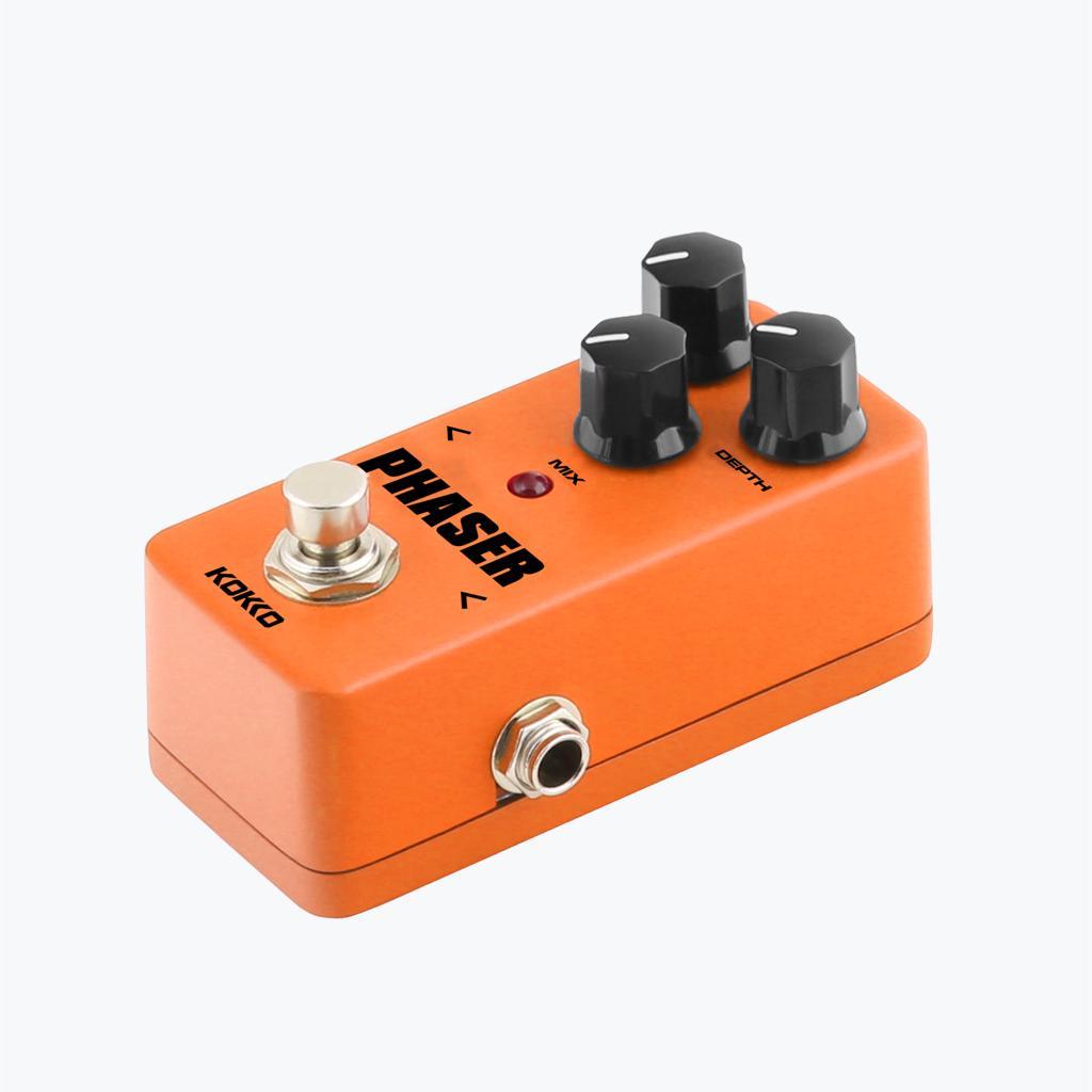 flanger fph2 mini pedal phaser analog guitar phase effect orange free shipping. Black Bedroom Furniture Sets. Home Design Ideas