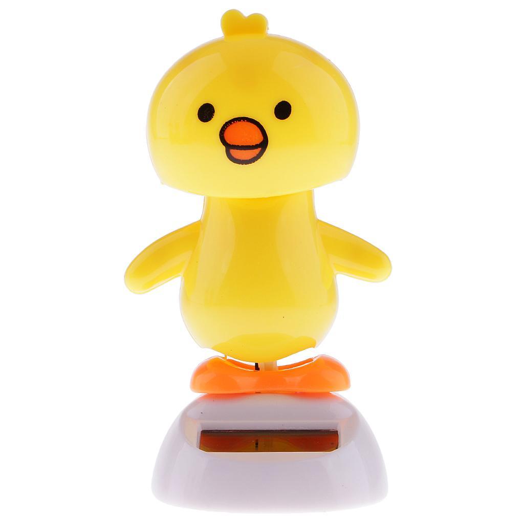Solar Powered Dancing Flip Flap Toy Gift Car Ornament Bobblehead ...