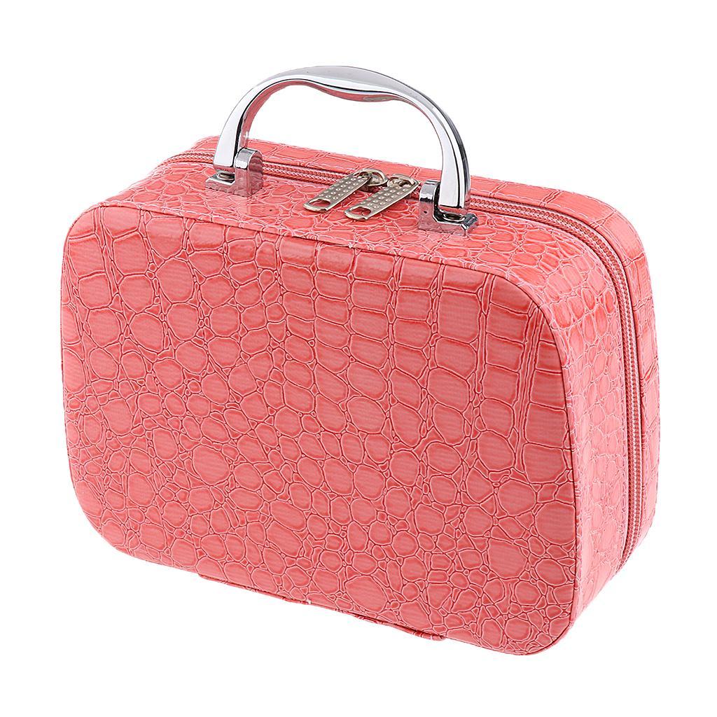 PU Travel Cosmetic Bag Makeup Case Toiletry Organizer Storage Pou...