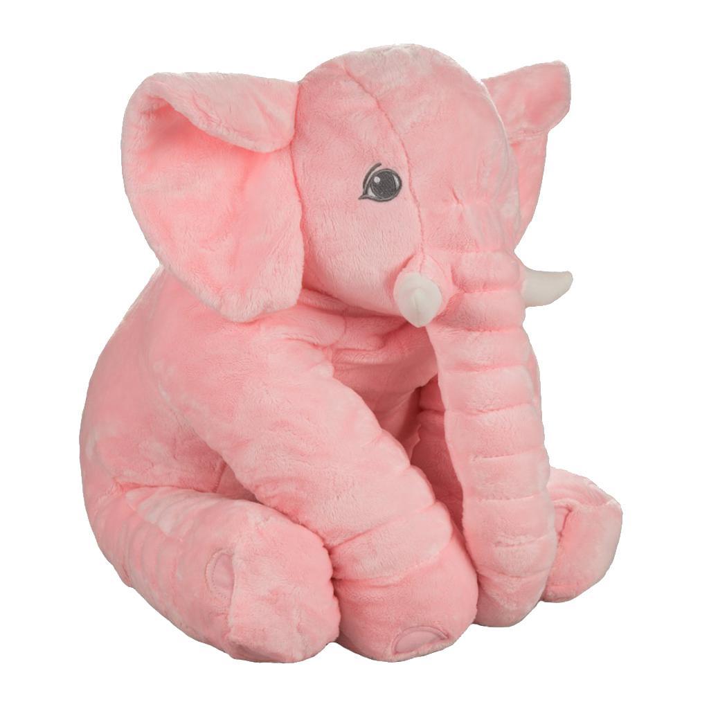 Elephant Stuffed Toy : Baby kid elephant throw pillows soft plush stuffed doll