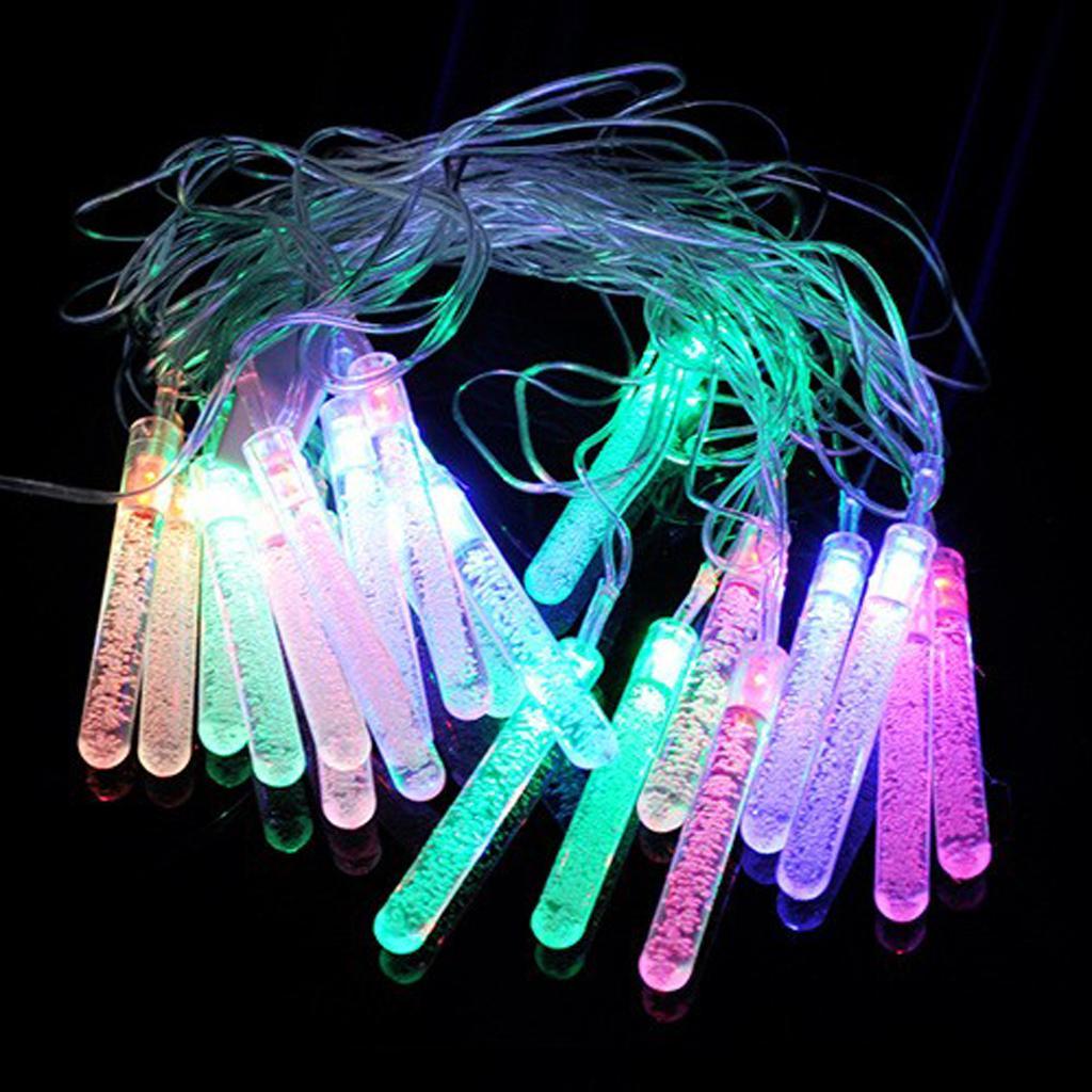 4 Meter 20LED RGB Water Drop Fairy String Light Decoration 220V EU Plug