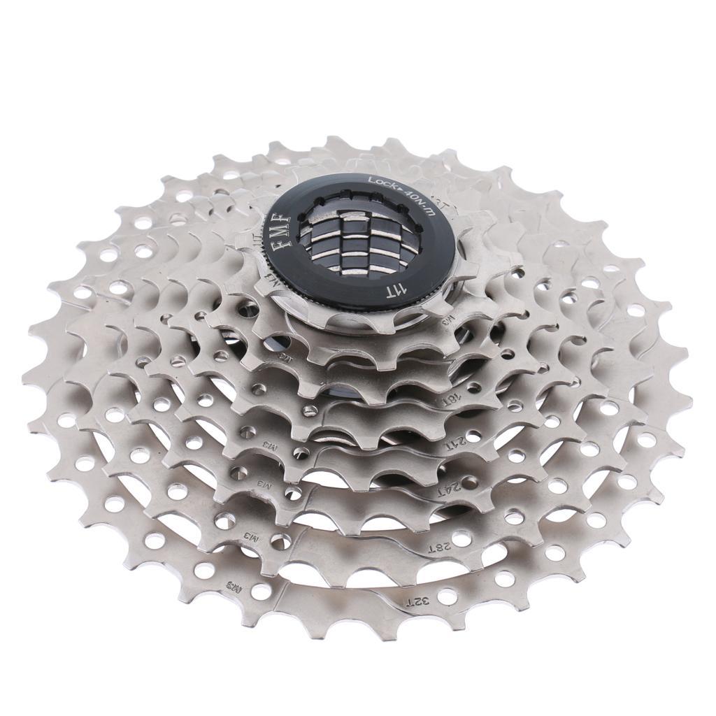 Mountain Bike Bicycle Freewheel Cassette Sprocket Parts Gear 8 Sp...