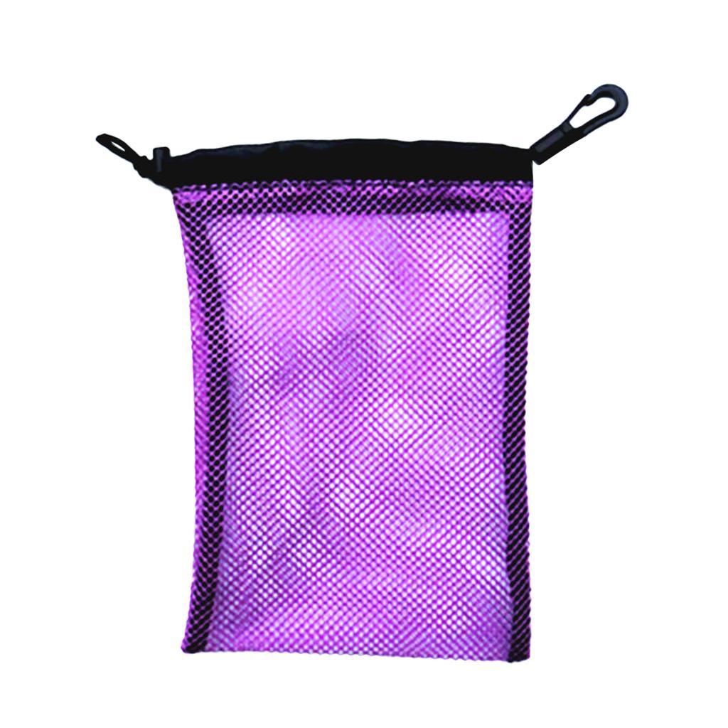 Dive Swimming Drawstring Mesh Bag Storage for Diving Scuba Snorke...