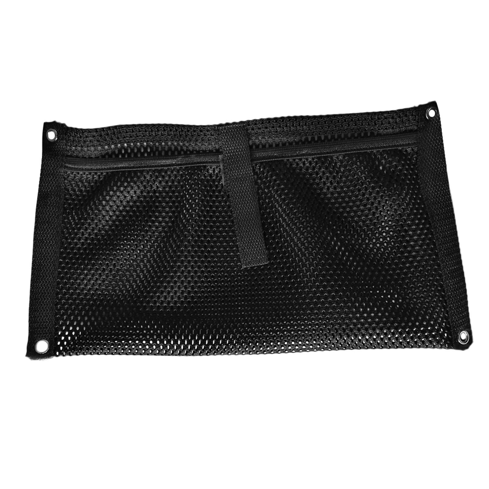 Boat Storage Netting : Black nylon boat gear accessories beer storage mesh bag