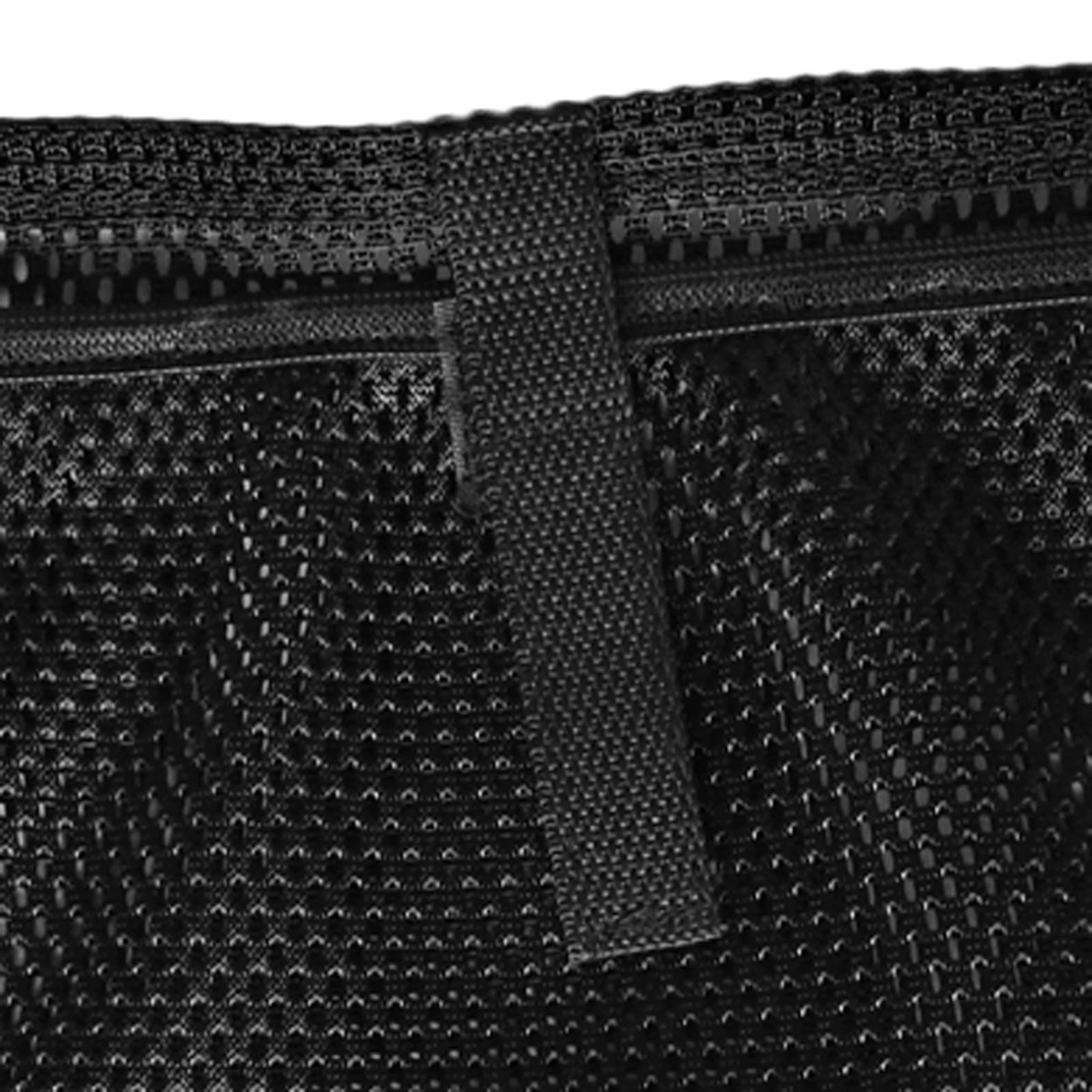 Black Nylon Boat Gear Accessories Beer Storage Mesh Bag