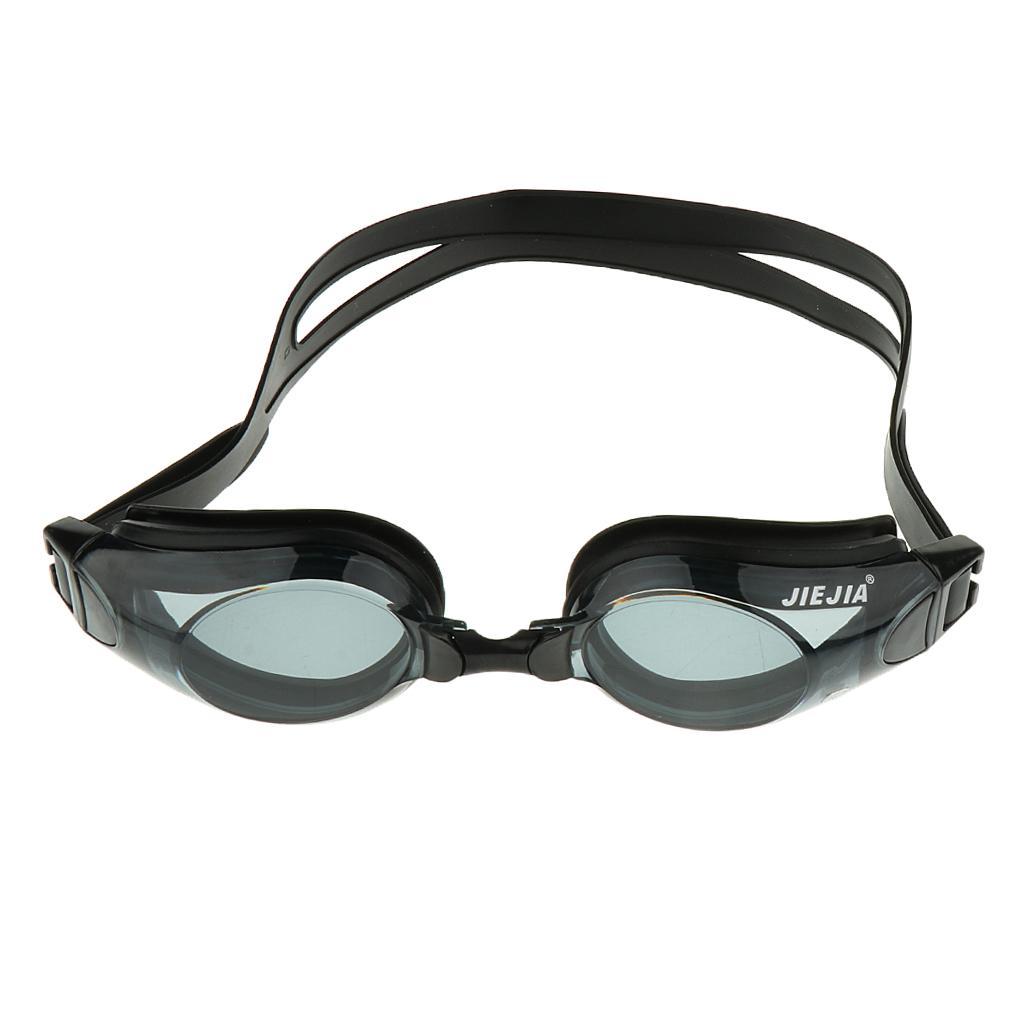 Adult Prescription Myopia Nearsighted Goggles Anti-Fog Swimming G...