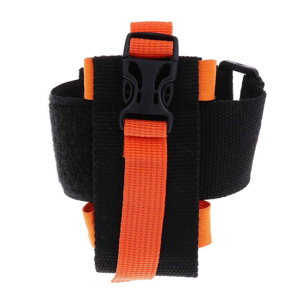 Multifunctional Outdoor Sports Running Cell Phone Armband Wrist Bag Orange