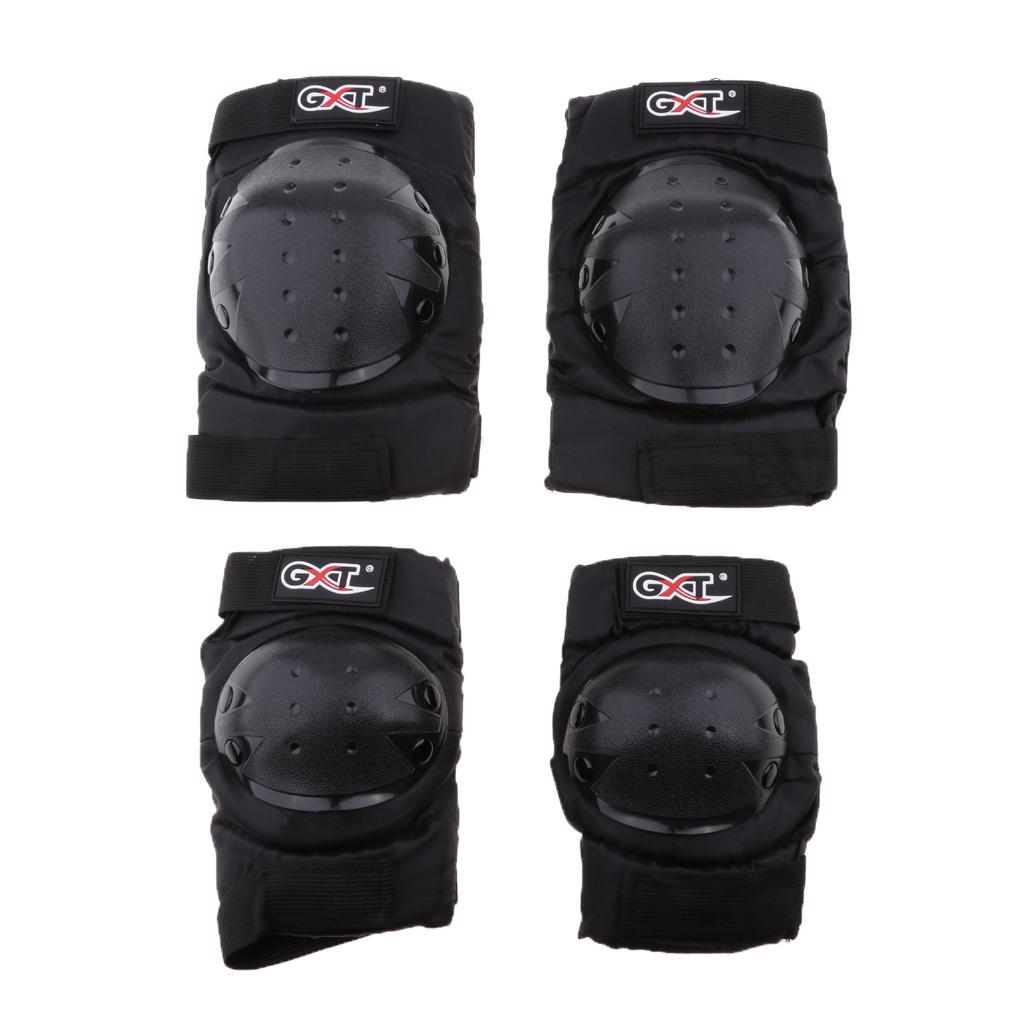 Motorcycle Motocross Bike Knee Pad Protector Guard Protective Gea...