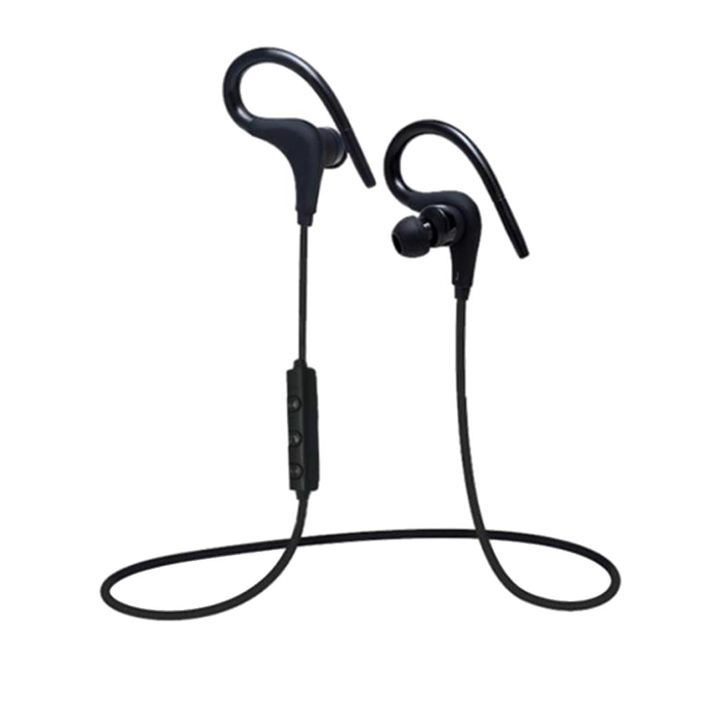 Earhook sports wireless bluetooth earphone black