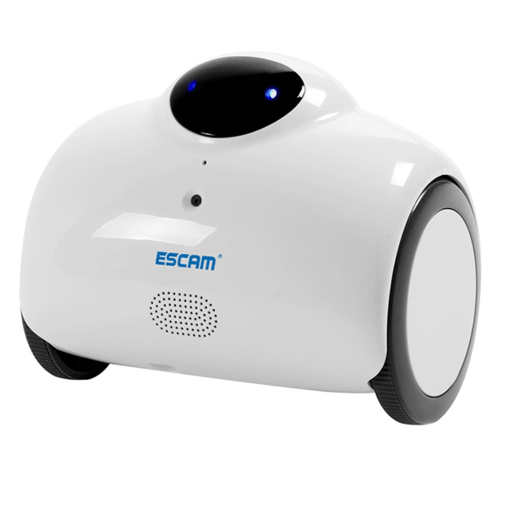 ESCAM QN02 Robot 720p HD WIFI Smart Web Camera US