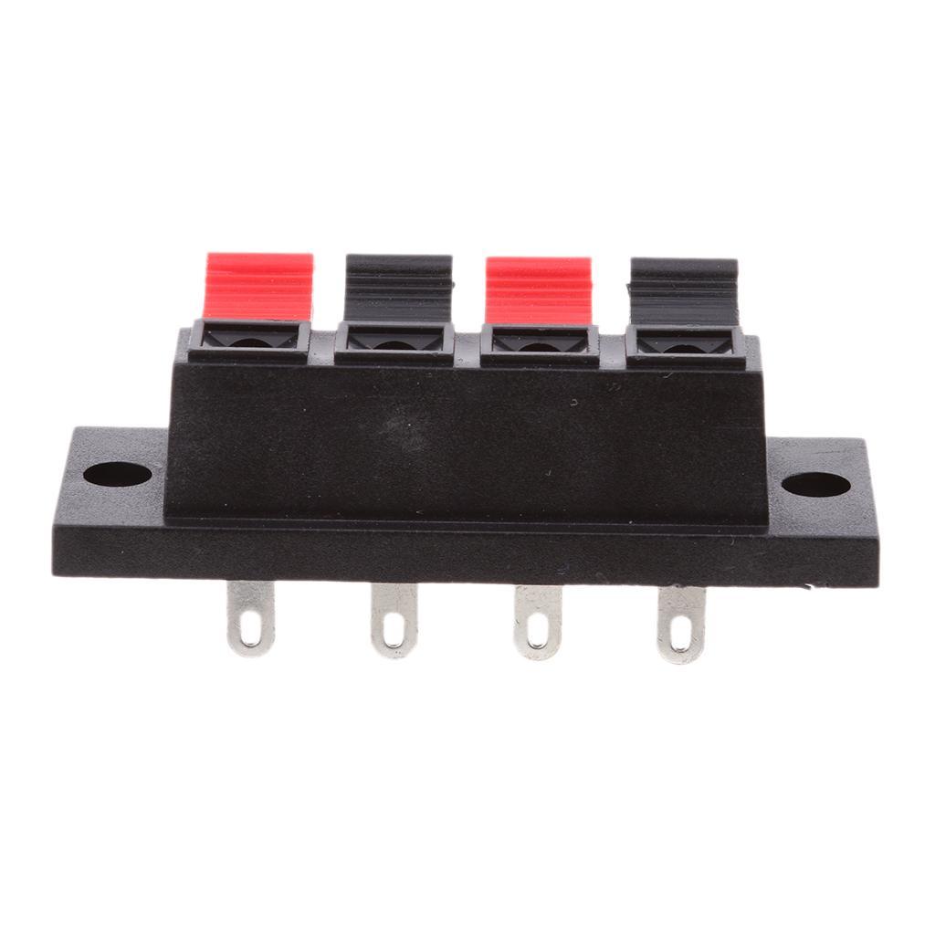 Push-Type Speaker Terminals/ 4 Pin Speaker Terminal Connector