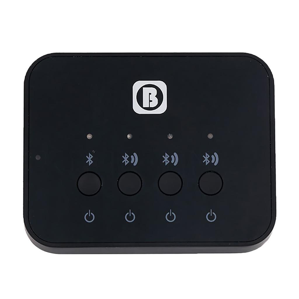 HIFI 3-in-1 Bluetooth Splitter Transceiver 3.5mm Audio Input Adapter for TV