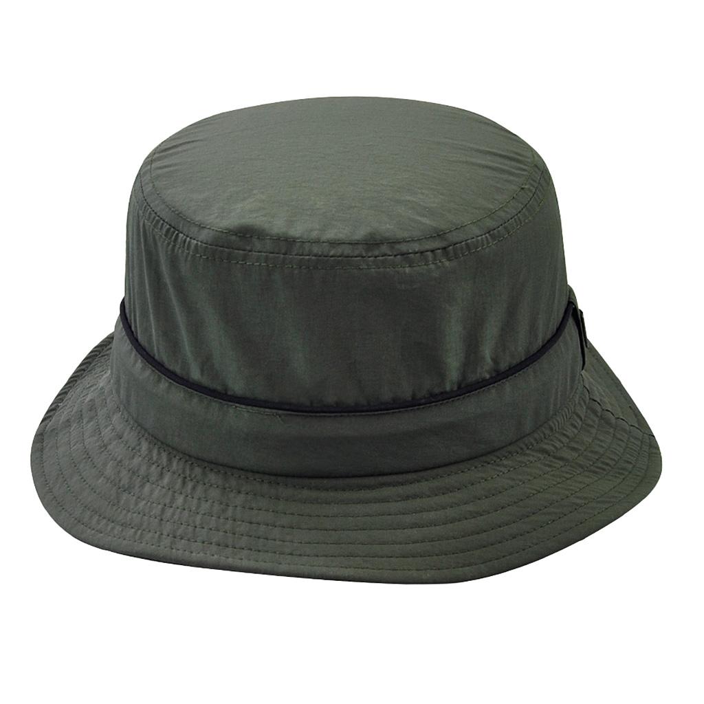 Men Women Summer Fishing Beach Boonie Bucket Hat Sun Cap Adults army green