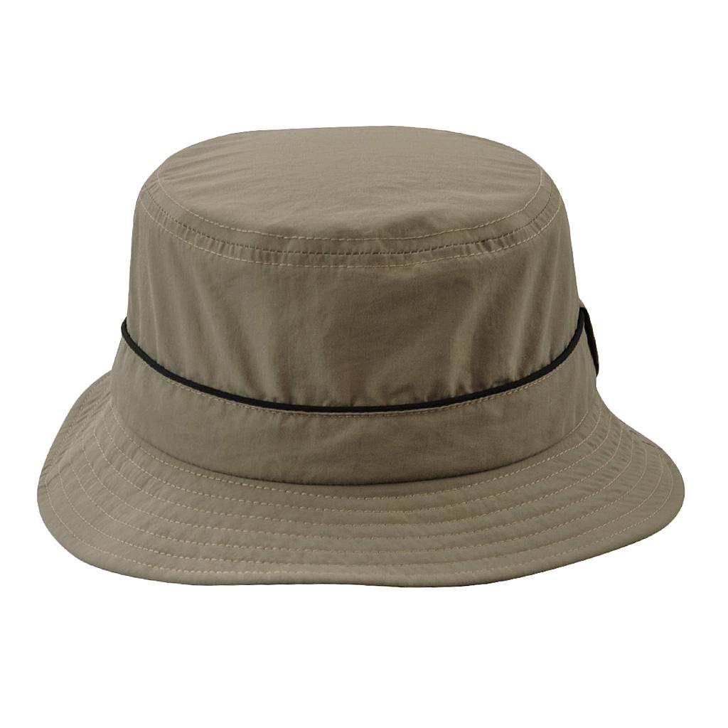 Men Women Summer Fishing Beach Boonie Bucket Hat Sun Cap Adults beige