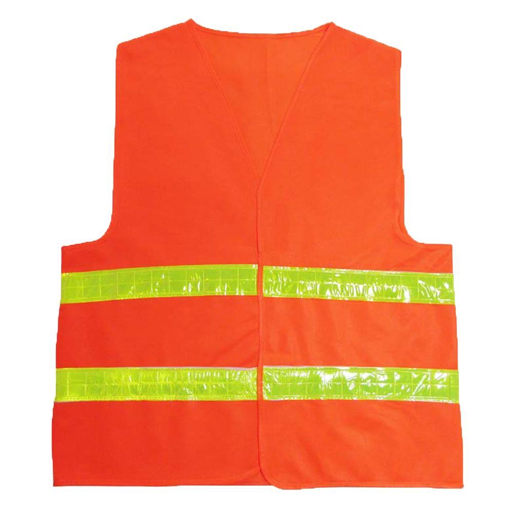 Adjustable Safety Vest Reflective Jacket Security Waistcoat Vest ...