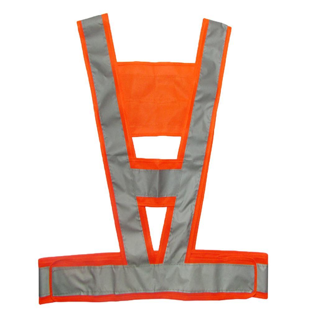 V-Shaped Reflective Safety Vest Traffic Safety Clothing High Visi...