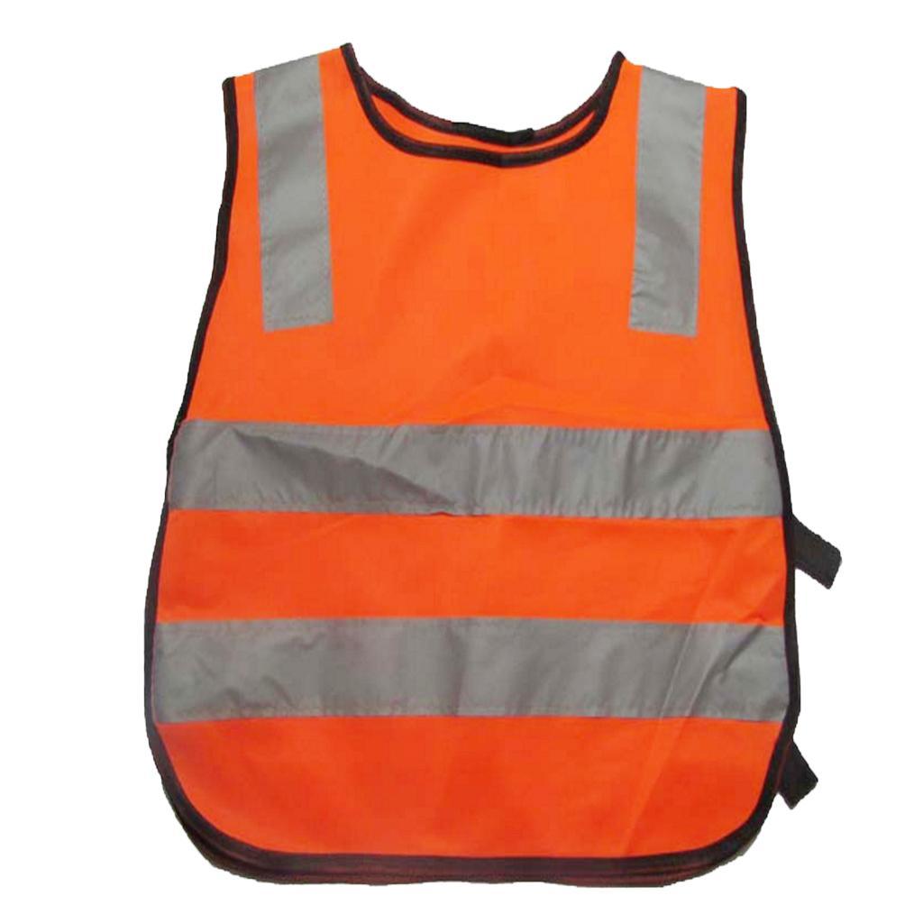 Reflective Safety Vest High Visibility Safety Vest Waistcoat Jack...