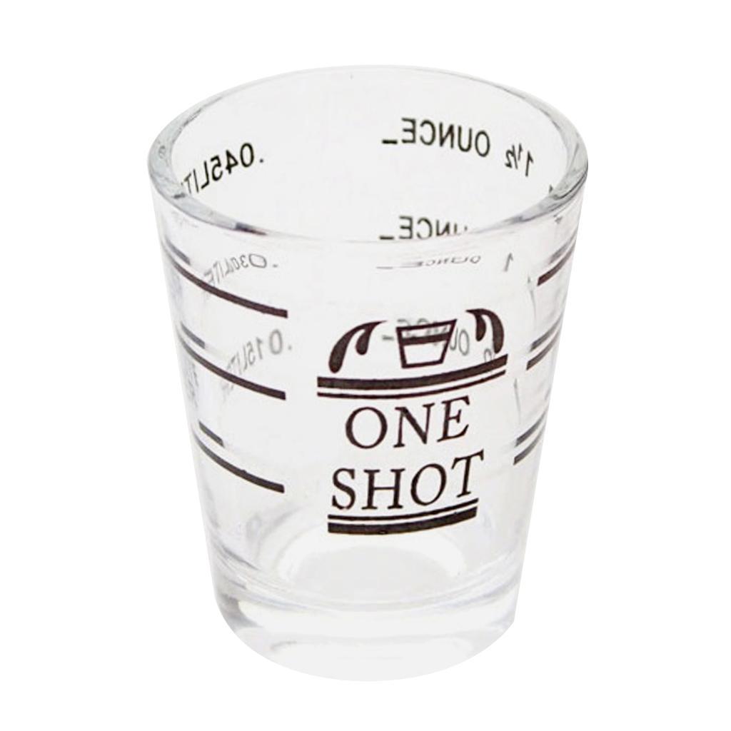 1.5oz Glass Mug Cup Tea Cup Milk Coffee Cup