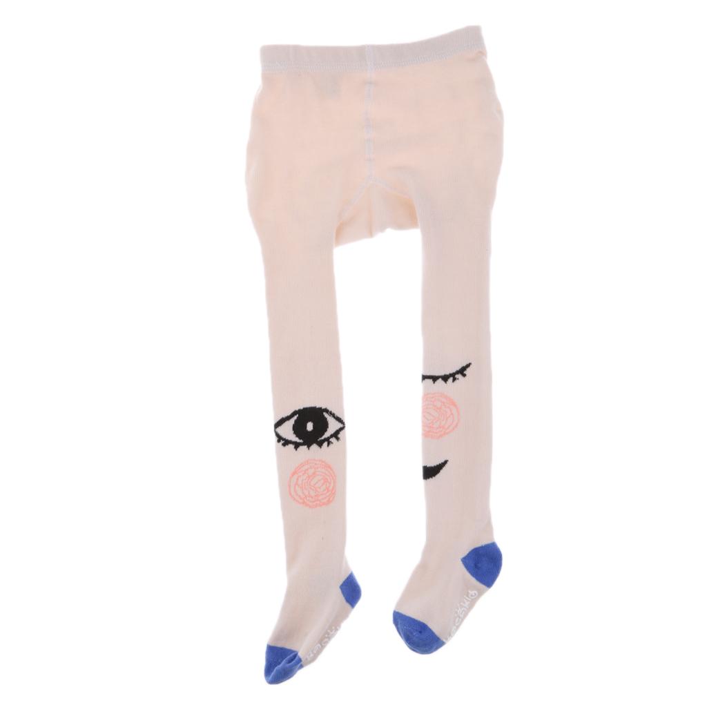 Infant Kids Girls Cotton Warm Pantyhose Socks Stockings Tights 0-2Y Blue Eye