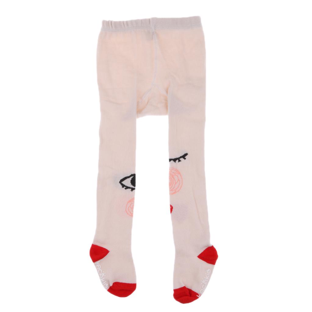 Infant Kids Girls Cotton Warm Pantyhose Socks Stockings Tights 0-2Y Red Eye
