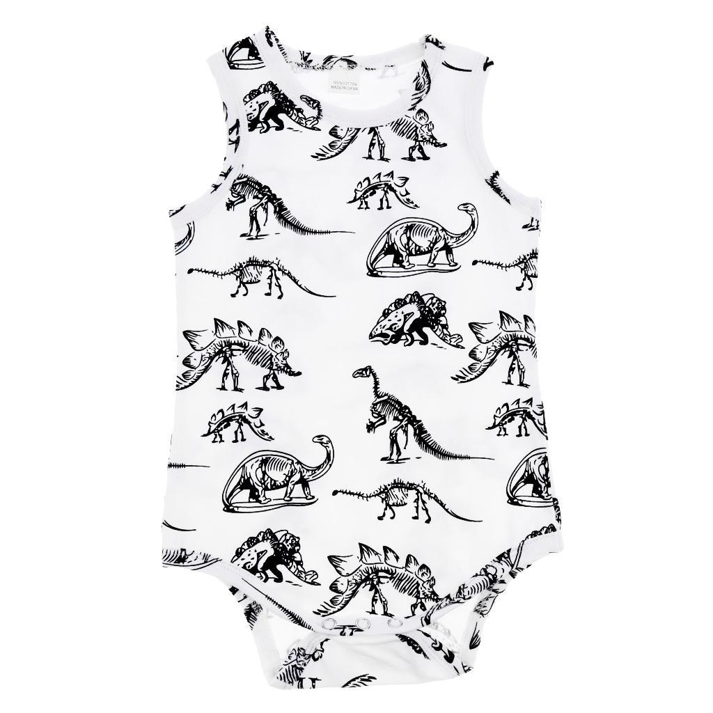 Baby Boys Girls Romper Summer Jumpsuit Bodysuit Clothes Outfit 90cm(12-18M)