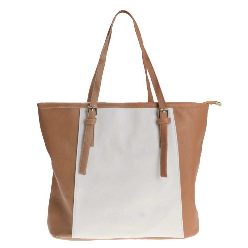 Women Girl Fashion Shoulder Bag Classical Handbag Stylish Tote khaki